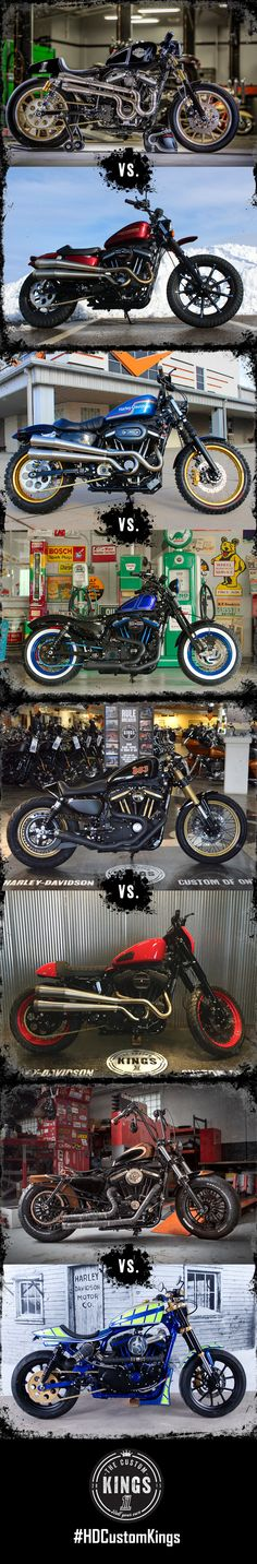 Vote for the 64 Sportsters built by the customization experts at H-D dealers across the U.S. New round of voting each Tuesday. | #HDCustomKings Northeast Region