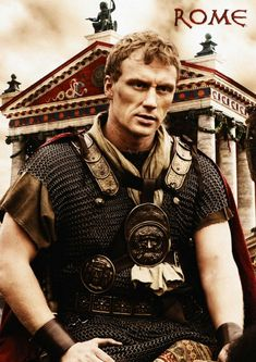 """""""Rome"""" 2 season miniseries depicting the linked destinies of Caesar and one of his officers. Captivating, beautiful and somewhat historically accurate."""