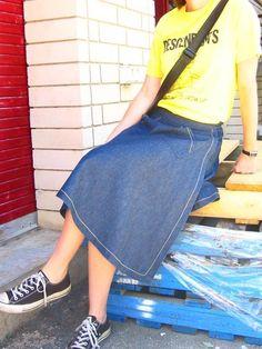 Sewing: Dana Wrap Skirt