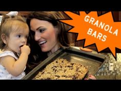 Healthy & Homemade Granola Bars Your Kids Will Love!