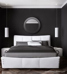 White leather valle bed with gas lift base and under-bed storage.   https://www.facebook.com/MiottoDesign