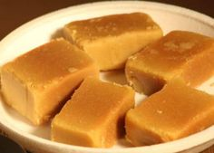 Mysore Pak - A very popular sweet dish from South India