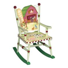 Guidecraft Little Farmhouse Rocking Chair.Opens in a new window  $109  PAINT OURSELVES