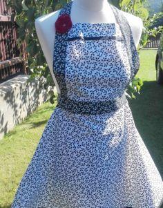 DÁMSKÁ ŠATOVÁ ZÁSTĚRA -LÍSTKY NA BÍLÉ Dresses, Fashion, Vestidos, Moda, Fashion Styles, Dress, Fashion Illustrations, Gown, Outfits