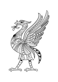 Liverbird Tattoo, Tattoos, Liverpool, Rooster, Moose Art, Animals, Image, Google, Tatuajes