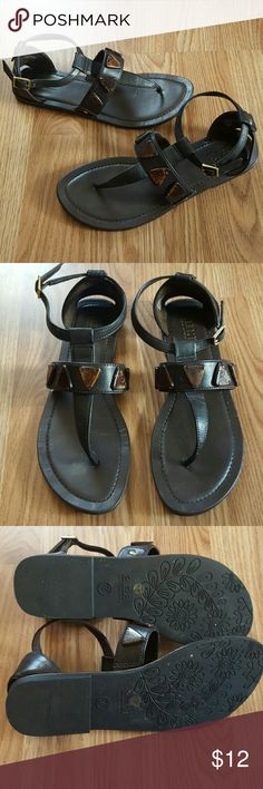 🌹Sale 🌹 Flat sandals Cute sandals,  only worn a handful of times. ana Shoes Sandals