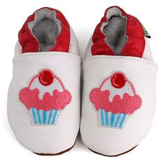 @Overstock - These adorable soft sole baby shoes are constructed of a top grade leather with non-slip leather soles. Slip-on styling make these little shoes convenient for you and comfortable for your baby.http://www.overstock.com/Baby/Cupcake-Soft-Sole-Leather-Baby-Shoes/6322775/product.html?CID=214117 $11.49