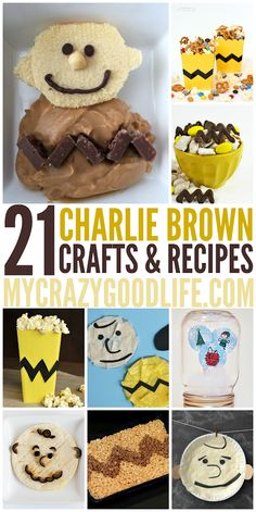 These fun Charlie Brown recipes and crafts are perfect for a Peanuts party or playdate!