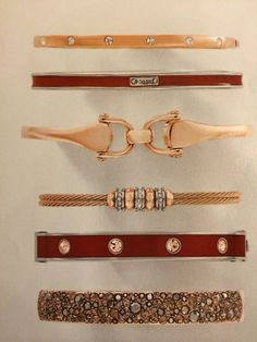 Obsessed with fossil bracelets!