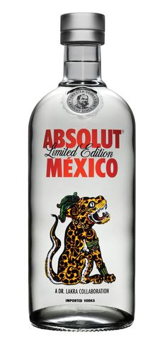 Absolut Mexico - vodka packaging. Via the Dieline