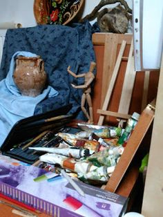 Vitalina K. Samosvat - Art: Ο χώρος της έμπνευσης και δημιουργίας