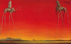 The Elephants, by Salvador Dali