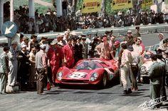 Nino Vaccarella / Ludovico Scarfiotti, #224 Ferrari 330 P3/4 (Ferrari SEFAC), Targa Florio 1967 (DNF)