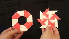 Como hacer una ESTRELLA NINJA transformable de papel
