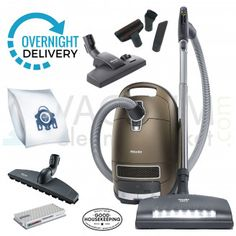 Miele Brilliant Complete C3 canister vacuum cleaner Miele Vacuum, Low Pile Carpet, Overnight Delivery, Canister Vacuum, Home Tools, Hepa Filter, Types Of Flooring, Canisters, Colorful Backgrounds