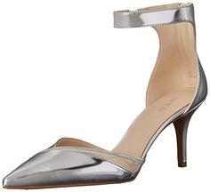 Nine West Women's Kasafo Metallic Dress Pump, Silver, 5 M US Nine West http://www.amazon.com/dp/B00U7L73EI/ref=cm_sw_r_pi_dp_rZoFvb0Y42EZY