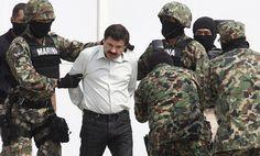 """Criptograma Noticias: Joaquín Guzmán Loera, """"El Chapo"""", sus capturas y escapes"""