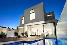 This stunning South Yarra (Australia) ultra contemporary property has recently been sold by RT Edgar Estate, minimalistic interior design trhoughout and excellent indoor/outdoor entertainment areas, this home is ideally located. Style At Home, Interior Exterior, Exterior Design, Contemporary Architecture, Architecture Design, Contemporary Homes, Contemporary Cottage, Beautiful Architecture, Modern Pools
