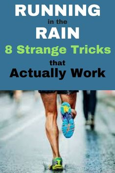 8 Tricks for Running in the Rain. Don't miss a run because of rain, find out how to make running in the rain less crappy. Training Plan, Running Training, Running Workouts, Running Tips, Cardio Workouts, Workout Routines, Marathon Tips, Half Marathon Training, Running In The Rain