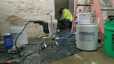 SealBoss was asked to come out and consult with a local installer in St. Louis, Missouri, to find solutions for the water ingress problem. To learn more click below. #waterproofingsolutions Concrete Repair Products, Home Appliances, Building, St Louis, Missouri, Water, Foundation, Garage, Rock