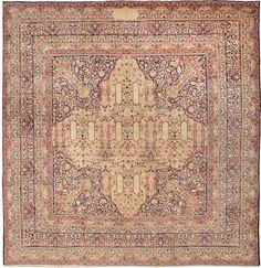 Antique Kerman Persian Rug 43478 Detail/Large View - By Nazmiyal