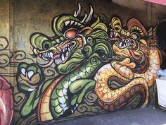 Dragon School Mural Chinatown, Oakland, CA