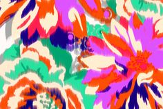 #digitalprint #india #digitallyprintedfabric digitally printing really cool patterns on to a fabric of your choice in india. Create your own unique fabric! milkprint ikat summer floral