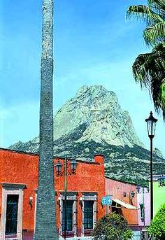 Peña de Bernal  in Ezequiel Montes, Queretaro, Mexico  www.tourbymexico.com