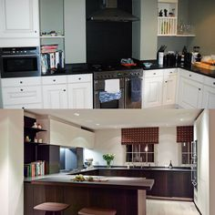 Kitchen Transformation in regency townhouse Transformation Images, Interior Architecture, Interior Design, Regency, Townhouse, Kitchen Cabinets, Home Decor, Architecture Interior Design, Nest Design