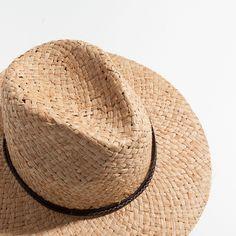 SOMBERO PAJA - Colección - Beach Collection | Zara Home España Zara Home, France, Panama Hat, Boho Fashion, Summer 2016, Hats, Beach, Inspiration, Collection