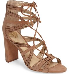 Main Image - Vince Camuto Mindie Ghillie Sandal (Women)