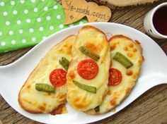 Yoğurtlu Ekmek Dilimleri Resimli Tarifi - Yemek Tarifleri
