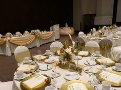 idées déco de table noces du0027or & 50th Anniversary Table Decoration Ideas - Best 50th Anniversary ...