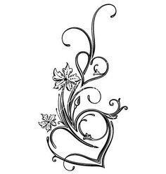 Side Tattoos, Mom Tattoos, Wrist Tattoos, Body Art Tattoos, Tribal Tattoos, Small Tattoos, Heart Tattoo Designs, Flower Tattoo Designs, Tattoos With Kids Names