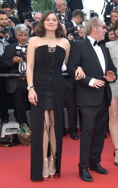 Marion Cotillard in Jean Paul Gaultier Couture. Photo: Pascal Le Segretain/Getty Images