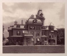 """Bay Villa"", the residence, on Staten Island, of Anson Phelps Stokes / photographs taken and assembled by the family. 1880. Metropolitan Museum of Art (New York, N.Y.). Thomas J. Watson Library. Rare Books in The Metropolitan Museum of Art Libraries. #BayVilla #StatenIsland #photographs #architecture"