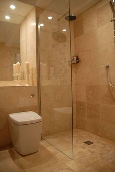 41 Ideas Bath Room Design Layout Walk In Shower Wet Rooms For 2019 Wet Room With Bath, Tiny Wet Room, Wet Room Bathroom, Wet Room Shower, Bathroom Shower Doors, Bath Room, Bathroom Canvas, Downstairs Bathroom, Shower Floor
