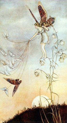 """swansong-willows: """" Flores y Palabras: Ilustraciones de Ida Rentoul Outhwaite (II) """""""