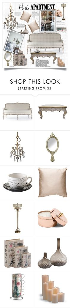 """Paris Apartment"" by nata0 ❤ liked on Polyvore featuring interior, interiors, interior design, home, home decor, interior decorating, Parlane, Price & Kensington, Home Decorators Collection and Frontgate"