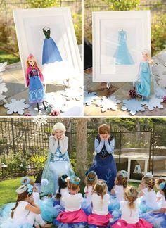 {Sparkly,+Snowy+&+Fantastic!}+Frozen+Birthday+Party