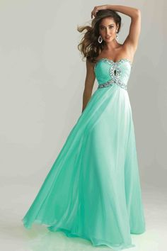 MZ0543 Hot Selling A-Line Sweetheart Neckline Crystals and Beads Vintage Long Prom Dresses 2014 $115.99