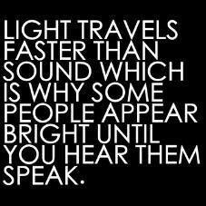 Bright spark... not!