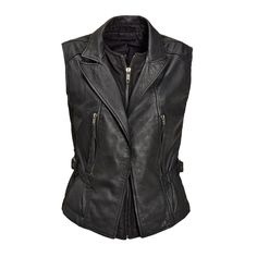 Leather vest from #Diesel