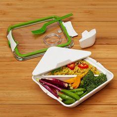 black+blum Lunchbox Appetit weiß/grün