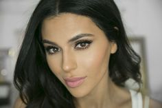 I love this shimmer eye makeup look with a soft winged liner which is perfect to wear in a wedding. Get Ready With Me Tutorial