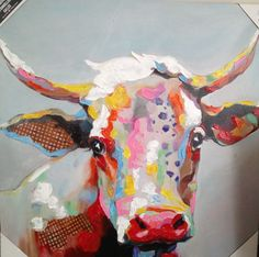 Cow Painting, this is awesome..