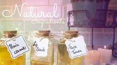 DIY Beauty Potions. Cutiepiemarzia has lots of DIYs for a lot of things. You should definitely check out some of her other videos on youtube.