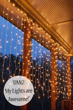 Your best ever backyard lighting begins with these brilliant outdoor string lights ideas! Adding a few string lights is really as easy as 1-2-3! Pick your color, bulb, design and go!