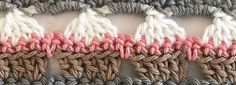 Looking for the cupcake stitch? On this page you can find a free crochet pattern and video. This cupcake stitch is very cute and can be used for borders.