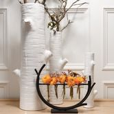 Found it at Wayfair - Winter Birch Vase/small $37.50 ,add 35.00 for ea size up,have different birch tree designs